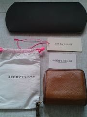 SEE BY CHLOE シーバイクロエ 二つ折り財布