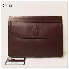 ☆本物☆ Cartier マストライン セカンドバック / ボルト