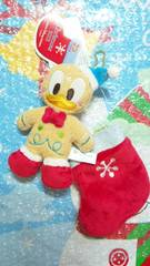 ディズニー TDL TDS クリスマス 30周年 サンタ 靴下 ぬいぐるみバッジ ドナルド