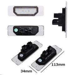 日産車専用-汎用LEDライセンスランプ/ポン付け純正交換型/左右