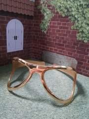 (61)新品未使用◆サングラス型カチューシャメタリックgold
