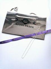 品薄ROYAL ORDER/ロイヤルオーダーネックレスチェーン&SHOP袋新品