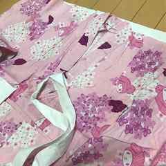 マイメロ◆女児 子供用 浴衣◆100 マイメロディー サンリオ