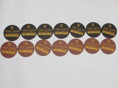 非売品 ルイヴィトンカップ2000 コースター ☆黒・茶 14枚セット