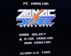 ZANAC x ZANAC ザナックザナック