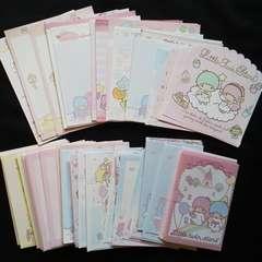 Little Twin Starsリトルツインスターズキキララ封筒97枚&便箋148枚
