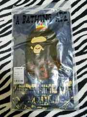 A BATHING APE/アベイシングエイプ♪プリントTシャツ/XL黒