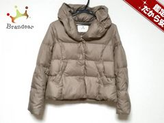 ef-de(エフデ) ダウンジャケット7 レディース美品  ベージュ 冬物