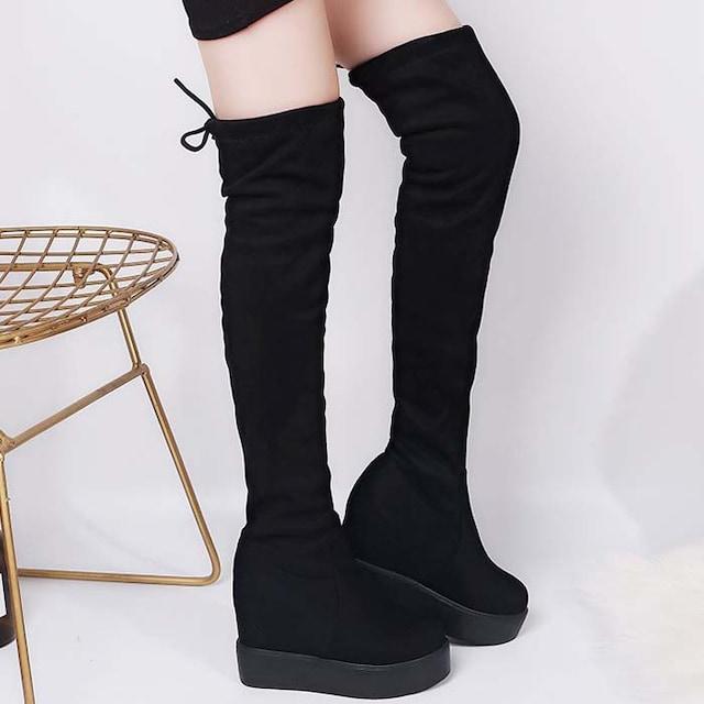 TK220即決 新品 厚底 ブーツ 黒 24cm エスペランサ ダイアナ ピンキー 好きに < 女性ファッションの