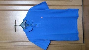 激安76%オフPolo、ラルフローレン、ポロシャツ(新品タグ、青、L位)