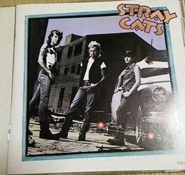 国内盤CD STRAY CATS ロックセラピー 帯なし
