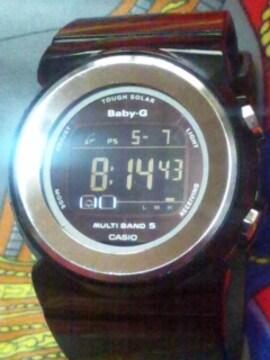 カシオBaby-Gショックタフソーラー電波腕時計BGD-1000ブラック反転液晶