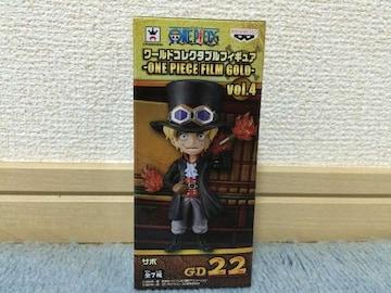 ワンピース コレクタブルフィギュア FILM GOLD vol.4 サボ