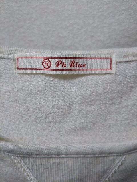 ◆Ph Blue◆ペーハーブルーチュニックカットソー < ブランドの