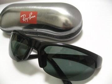 世界No1.RayBanレイバンの稀少なスポーツtypeオールブラックサングラス極美