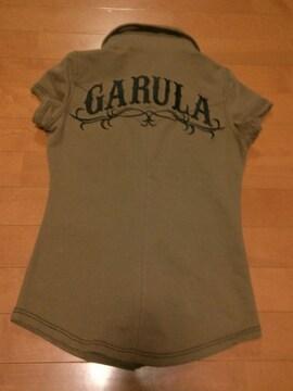 ◆GARULA ◆バックデカロゴシャツ◆BR ◆