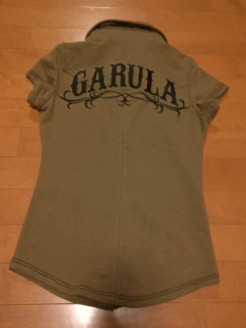 ◆GARULA ◆バックデカロゴシャツ◆BR ◆  < ブランドの