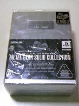 メタルギアソリッド コレクション / PS PS2 PSP DVD セット BOX METAL GEAR 20th