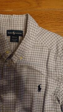 ラルフローレンキッズシャツ サイズM10-12