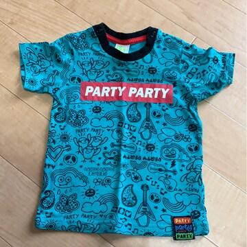 パーティーパーティー80センチ/総柄Tシャツ