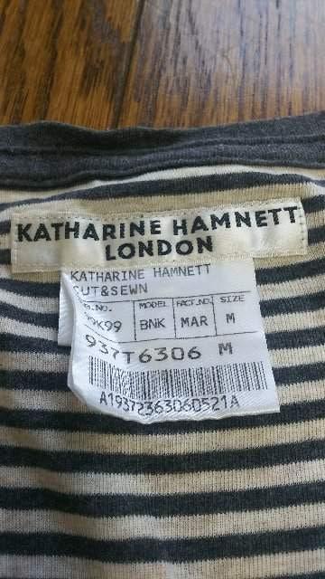 KATHARINE HAMNETT(キャサリン ハムネット)Tシャツタンクトップ < ブランドの