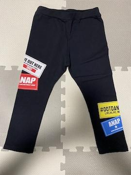 タグ付新品★ANAPアナップ★ ステッカー風プリントレギンス★120