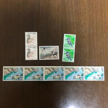 H19送料無料記念切手(80円.20円切手)