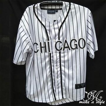 MLBシカゴ ホワイトソックス BBシャツ ベースボールシャツM 62