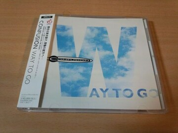 CONFUSION CD「WAY TO GO」コンフュージョン廃盤●