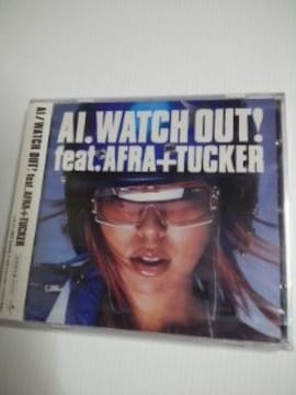 〒送料込み新品限定CD+DVDAI WATCH OUT!feat.AFRA+TUCKER