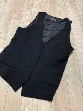 B710/セシルマクビー/ブラック/ベスト/