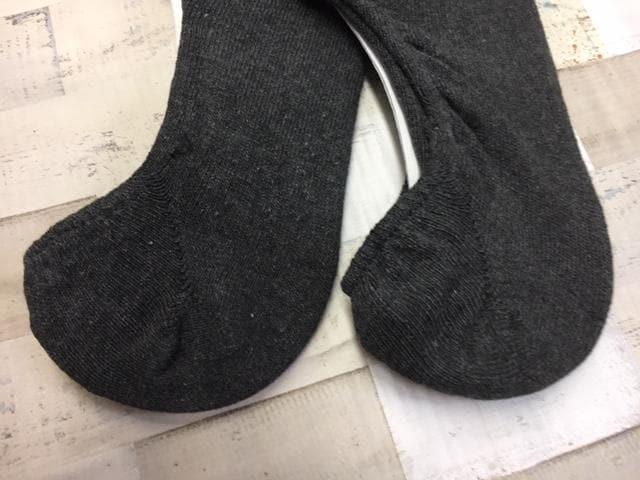 メンズべ−シックライン綿混・滑りめ付きカバーソック8足組 < 男性ファッションの