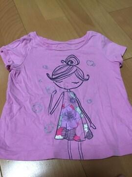 ベビーGAP 女の子用 Tシャツ 2歳