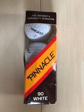 ■ゴルフボール PINNACLE 90 WHITE 3個