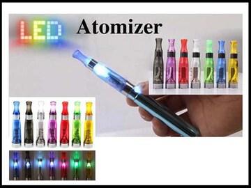 新品LEDライト電子タバコ   アトマイザー1.6ml x1本 緑色-クラブB系ストリート