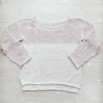 ●GYDAのざっくり編みニット●