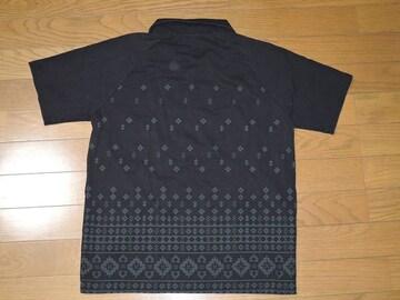 COALBLACKコールブラックポロシャツS黒バンダナ柄EXILE