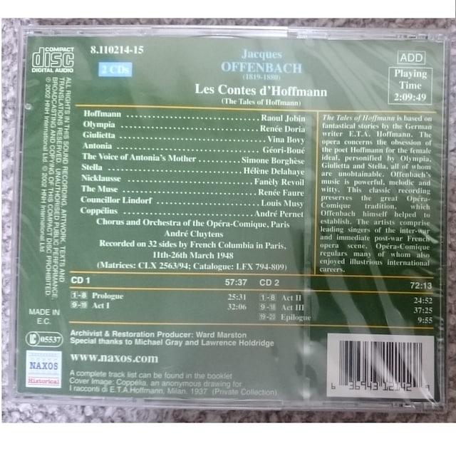 KF  オッフェンバック  歌劇「ホフマン物語」 2CD 未開封 < CD/DVD/ビデオの