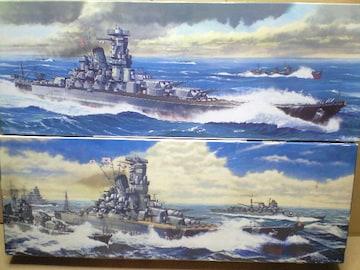 1/700 フジミ 日本海軍 戦艦 大和・武蔵  レイテ沖海戦