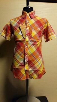 売り切りセール/JOEY/HOUSTON/半袖ワークシャツ/M/東洋/シュガーケーン