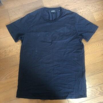 即決 DIESEL ディーゼル 半袖Tシャツ XS ブラック