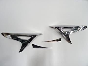 クロームメッキテールライトリング レクサスNX NX200t NX300h