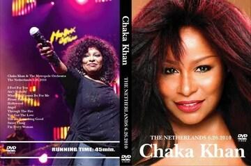 ≪送料無料≫CHAKA KHAN THE NETHERLANDS 2010 チャカカーン