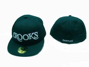 7 1/8 新品クルックス&キャセルCROOKS LA ストリートOGヒップホップ B系