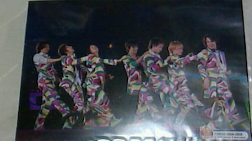 美品関ジャニ∞8人《東京》47都道府県2007ライブフォト4枚セットオマケ付