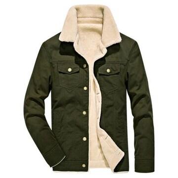 3色 メンズ中綿ジャケット 中綿コート 保温 裏起毛 M~4XL/AK538