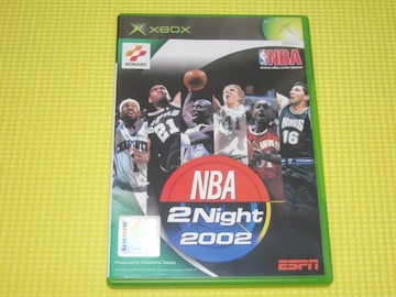 NBA 2 Night 2002★箱説付★スポーツ