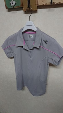 DIADORAディアドラ テニスウェア ゲームシャツ レディース M