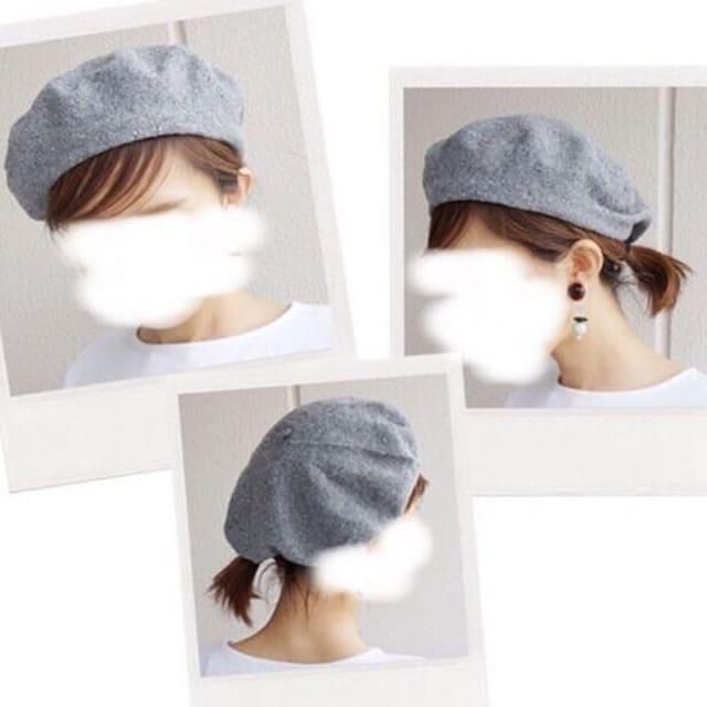 夏 用 ベレー 帽
