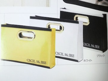 CECIL McBEEエナメルスクエアバッグ新品タグ